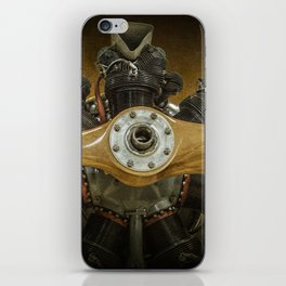 Airplane Propeller of a Fairchild PT-23 Cornell Monoplane iPhone Skin