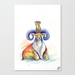 Uncanny Urials Canvas Print