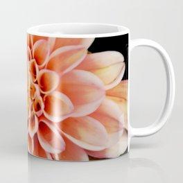 Light Orange Dahlia Coffee Mug