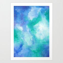Wintergreen Galaxy Art Print
