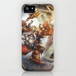 Steel Dwarf iPhone Case