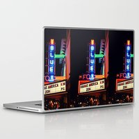 theater Laptop & iPad Skins featuring Old Theater by americansummers