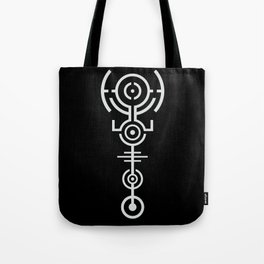 Crop Circle - White Tote Bag