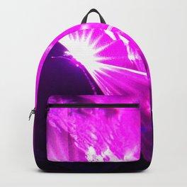 Pink laser Backpack