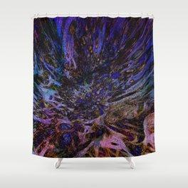 Frenzied Shower Curtain