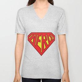 Super Nerd  Unisex V-Neck