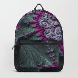 Black Cherry - Fractal Art Backpack