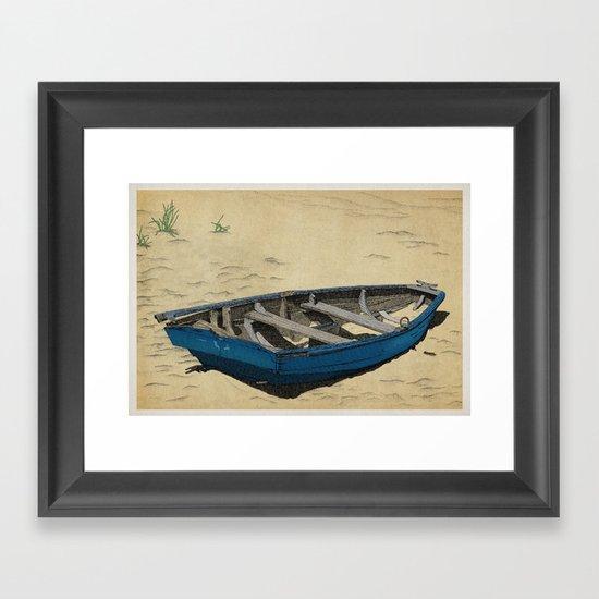 Beached Framed Art Print