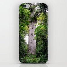 The World's Oldest Wood, Ancient Kauri iPhone Skin