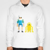 jake Hoodies featuring Finn & Jake by Pahito