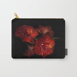 Scarlet Amaryllis Carry-All Pouch