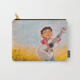 Miguel Plays Guitar Carry-All Pouch