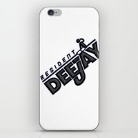 resident evil iPhone & iPod Skins featuring Resident Deejay by PSimages