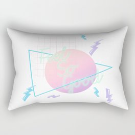 Neon Feels So Good Rectangular Pillow
