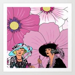 Good Afternoon Ladies Art Print