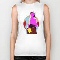 picasso Biker Tanks featuring Picasso Woman by Marko Köppe