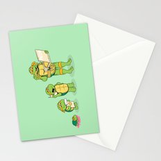 one mutation with extra cheese Stationery Cards