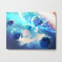 Planets Dimension Metal Print
