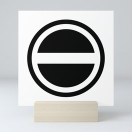 Curtis Holt Logo (Black) Mini Art Print