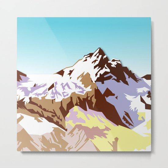 Night Mountains No. 49 Metal Print