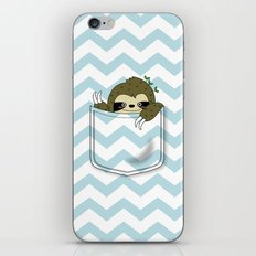 sloth in my pocket iPhone & iPod Skin