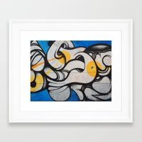 colombia Framed Art Prints featuring Colombia, #1 by ohrutown