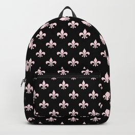 Black & Pale Pink Chic Backpack