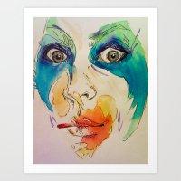 artpop Art Prints featuring artpop by AnnaToman