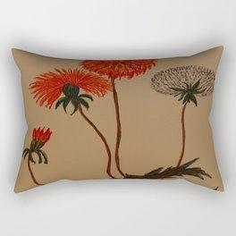 Dandalion Blossoms Rectangular Pillow