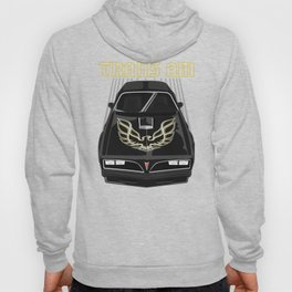 Pontiac Firebird Trans Am 77-78 - Black and Gold Hoody