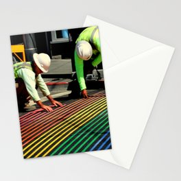 Laying It On The Line Stationery Cards
