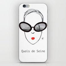 A Few Parisians: Quais de Seine iPhone & iPod Skin