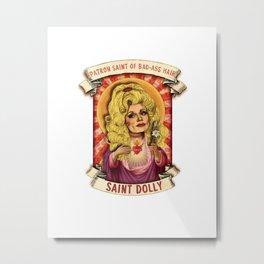Saint Dolly Metal Print