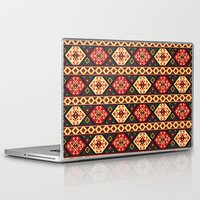 kilim Laptop & iPad Skins featuring Colorful Kilim by Pattern Design