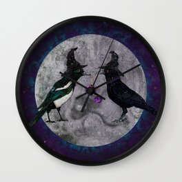 The Secret Gathering Wall Clock