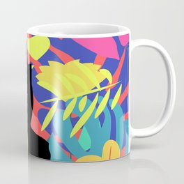 Tropical cat Coffee Mug