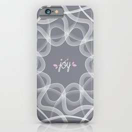 Ornament-Joy iPhone Case