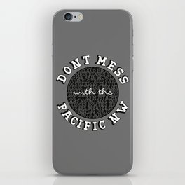 DONT YOU DARE iPhone Skin