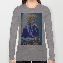 Trey Anastasio in Blue Long Sleeve T-shirt