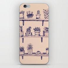 Succulent Fever Vintage iPhone & iPod Skin