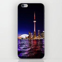 toronto city cn tower skydome iPhone Skin
