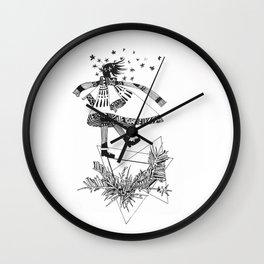 Precarious Wall Clock