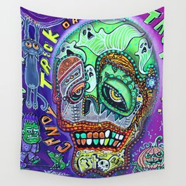 Treat or Trick Wall Tapestry