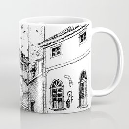 Old Square, Bergamo Coffee Mug
