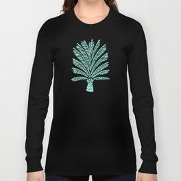 Palm Tree – Mint Palette Long Sleeve T-shirt