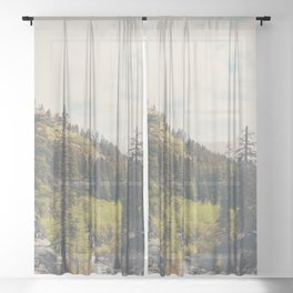 into the wild ...  Sheer Curtain