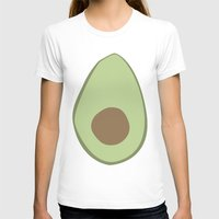 avocado T-shirts featuring Avocado by LEIGH ANNE BRADER