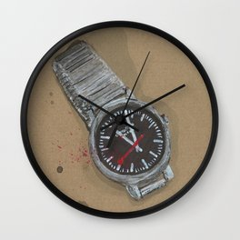 Mondaine Watch - These are the things I use to define myelf Wall Clock