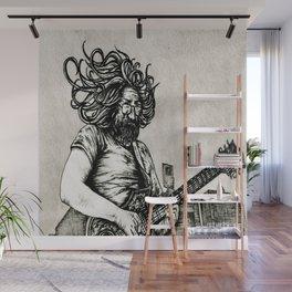 Jerry Garcia Wall Mural