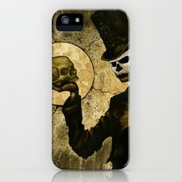 Shadow Man iPhone Case